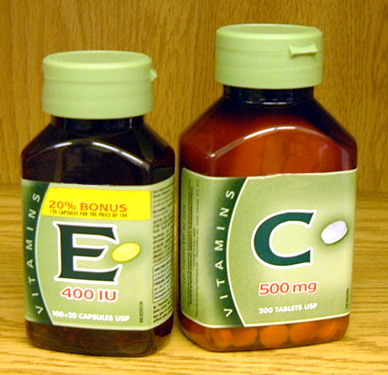E and C supplements